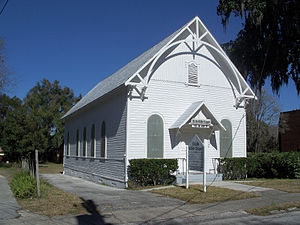 Former United Hebrews of Ocala synagogue, now ...