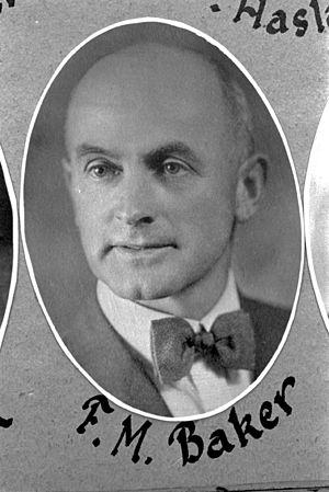 Floyd M. Baker - Image: FM Baker