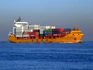 FOCS TENERIFE - IMO 9216846 - Callsign EBWL approaching Port of Rotterdam 17-Feb-2008.jpg