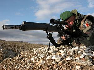 FR F2 sniper rifle - Image: FRF2 Afghanistan