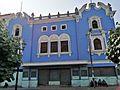 Façana d'edifici de la plaza Italia, Barrios Altos.jpg