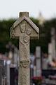 Face ouest de la croix de cimetière en batière (Pacé, Ille-et-Vilaine, France).jpg
