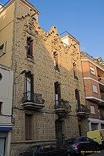 Viviendas en c/ Ravella, Barcelona (1906)