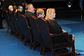 Family members of Gen. Timothy A. Byers, left, the Civil Engineer, Headquarters U.S. Air Force, listen to the Vice Chief of Staff of the Army Gen. John F. Campbell during Byers' retirement ceremony at Conmy Hall 130621-A-WP504-065.jpg
