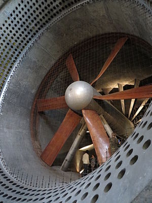 Farnborough, Hampshire - Main Fan in Building Q121