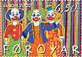 Faroe stamp 415 clowns.jpg