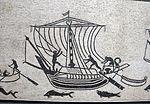 Fascia musiva con ingresso di navi nel porti, da grande triclinium di pal. diotallevi, 150 ca. 03.JPG