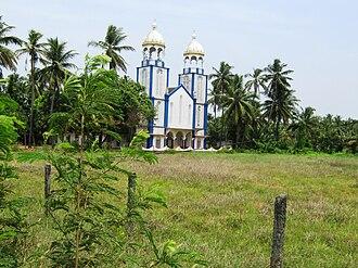 Pazhayangadi - Thavam Church