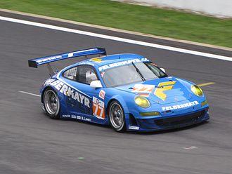 2010 1000 km of Spa - Marc Lieb and Richard Lietz won GT2 in car No. 77.
