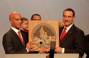 Vincent C. Gray - Gray was sworn in on January 2, 2011.