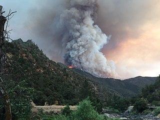 Ferguson Fire 2018 wildfire in California