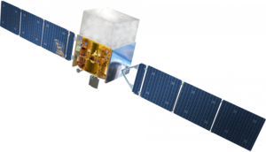 Fermi Gamma-ray Space Telescope ruimtevaartuig model.png