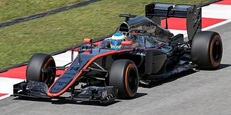 2015 Malaysian Grand Prix - Fernando Alonso returned to the grid after missing the first race in Australia.
