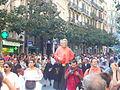 Festa Major de Gràcia 2011 - Gegantó Torres - XIII cercavila de cultura popular - carrer Gran P1330081.jpg