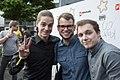 "Fewjar mit Max Krüger ""Frodo"" beim Webvideopreis 2014.jpg"