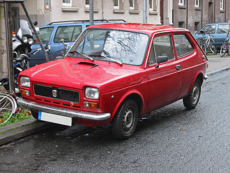 Automotive industry in Italy - Fiat 127, 1972 European Car of the Year, the catalyst of Spanish (SEAT) and Yugoslavian (Zastava) automotive industry