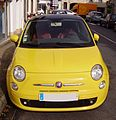 Fiat 500 (2007)-yellow-front view.jpg
