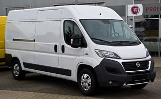 Fiat Ducato Light commercial vehicle by Fiat and PSA