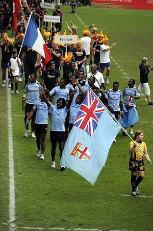 Fiji national rugby sevens team - Fiji Sevens Rugby Team 2009