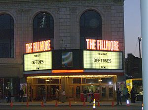 The Fillmore Detroit - Image: Fillmore Detroit marquee
