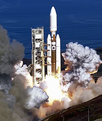 2005 in spaceflight - Launch of the last Titan rocket, a Titan IVB, from Vandenberg SLC-4E