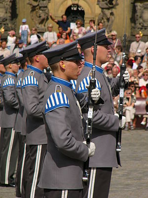 Music of Finland - The Conscript Band of the Finnish Defense Forces—singing