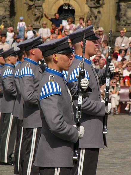 The Conscript Band of the Finnish Defense Forces--singing Finland military band singing.jpg