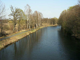 Finow Canal - The Finow Canal