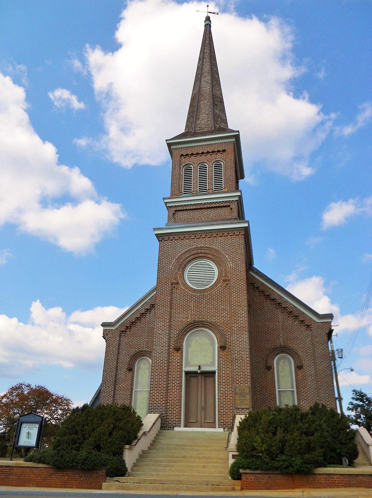 First Presbyterian Church Talladega Alabama Wikipedia