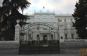 Spanish Attorney General - Attorney General Office's Headquarters