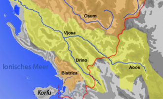 Drino - Vjose and Drino basin