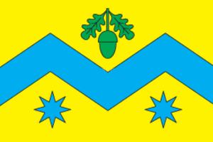 Mykolaiv Raion, Lviv Oblast - Image: Flag of Mykolaiv Raion