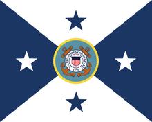 Flag Of The Vice Commandant United States Coast Guard