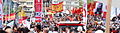 Flags from Istanbul may day 2012.jpg