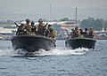 Flickr - Official U.S. Navy Imagery - Members of U.S. Navy Riverine Squadron 3 work with members of Philippine Navy Seal Team 7 during a patrolling and formation training event..jpg