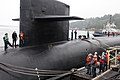 Flickr - Official U.S. Navy Imagery - Sailors tie USS Maine to the pier..jpg
