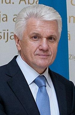 Flickr - Saeima - Latviju oficiālā vizītē apmeklē Ukrainas parlamenta priekšsēdētājs (13) (cropped).jpg