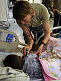 Flickr - The U.S. Army - Mother, son serve together in Afghanistan.jpg