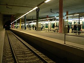 Image illustrative de l'article Métro de Lausanne