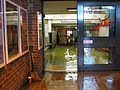 Flooding at Didcot Parkway railway station, Oxfordshire, in July 2007.jpg