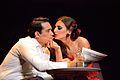 """Florencia Lauga y Fernando Vargas en la obra """"Julio, El Musical"""" en 2016.jpg"""