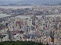 Florianópolis SC Brasil - Vista do Centro - panoramio.jpg