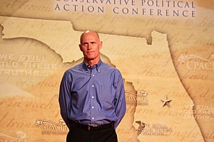 Rick Scott - Governor Scott speaking at the 2011 Conservative Political Action Conference (CPAC) in Orlando, Florida