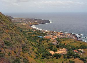 The island of Fogo, Cape Verde