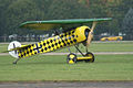 Fokker D.VIII Lt See Gotthard Sachsenberg Landing Taxi 01 Dawn Patrol NMUSAF 26Sept09 (14619990073).jpg