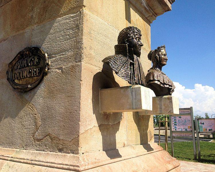 Fontaine en grès et bronze de 1844