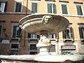 Fontana in piazza delle Cinque Scole - particolare.JPG