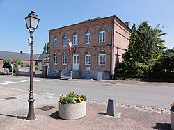 Fontenelle (Aisne, Fr) mairie.jpg