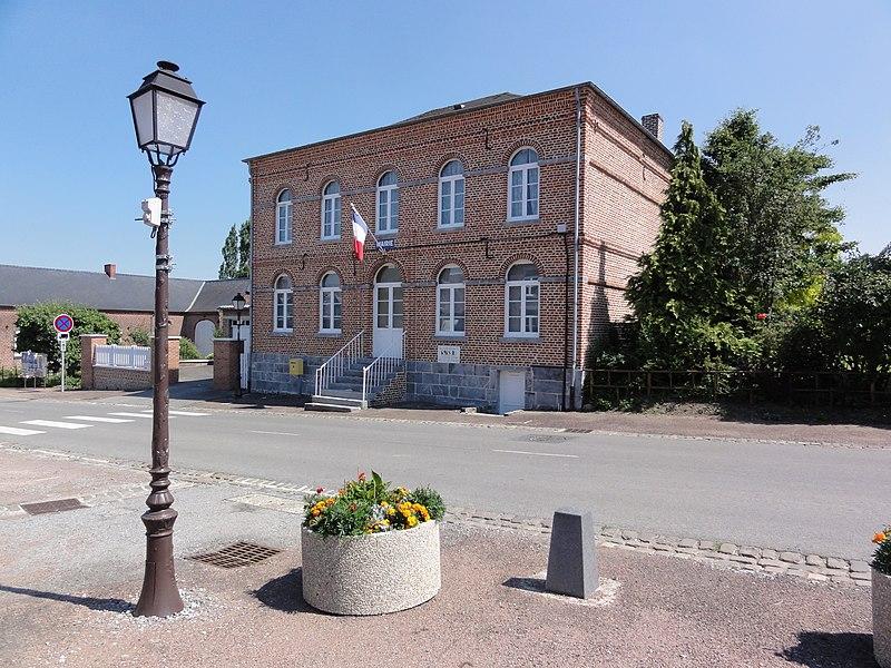 Fontenelle (Aisne, Fr) mairie