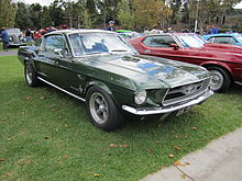 La Ford Mustang Fastback MY 1967